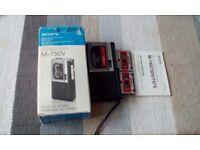 Sony recorder £10