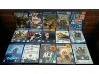 Ps2 , 15 cd games