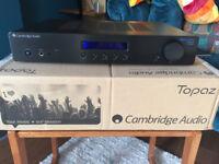 Cambridge Audio Topaz AM10 Integrated Amplifier & Tannoy Mercury V1 speakers