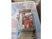Large tub of Marvel/dc comics £40 COLLECTION ONLY