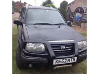 Suzuki vitara nice little car engine management lightonbut running fine