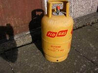 7KG Flo-gas Patio gas bottle, EMPTY, clean condition - on-line deposit £30.62