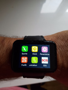 smartwatch dm 98 android  a vendre