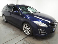 2011(11)MAZDA 6 SPORT ESTATE 2.2 DIESEL MET BLUE,FSH,6 SPEED,FULLY LOADED,LOVELY CAR