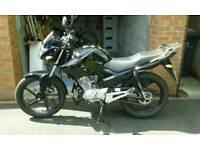 Yamaha YBR 125 motor bike