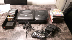 Sega Genesis CD system with games excellent  shape