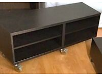 STYLISH SOLID WOODEN 2 PIECES OF MATCHING FURNITURE - QUICK SALE £25 EACH