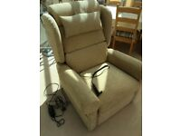 The Recliner Factory reclining chair with motor. Like new