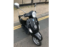 2013 Piaggio Vespa 3V LX 125 lx125 in Black great condition
