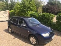 SKODA FABIA CLASSIC ONLY DONE 16,000 MILES (blue) 2003