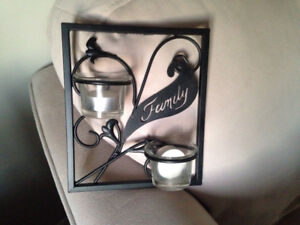 Family Wall Candle Holder