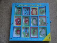 Winnie the Pooh - a magnetic complete-the-picture book