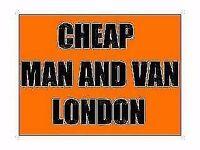 cheap man and van