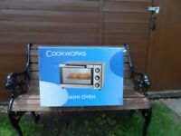 Cookworks Stainless Steel Mini Oven