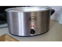 Swan slow cooker 6.5 ltr