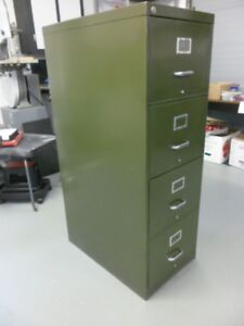 Filing Cabinet, Legal, Four Drawer