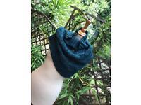 Topshop Turquoise Shrug