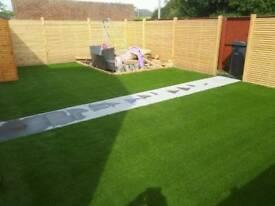 Artificial grass. Astro turf