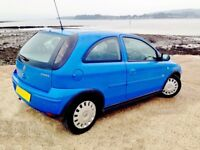 LOVELY CORSA * IDEAL !ST CAR * 973 CC * CHEAP INSURANCE * TOTALLY RELIABLE * DRIVES LOVELY