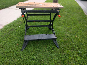 Black and Decker work stand