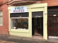 Attractive, NEWLY REDECORATED retail unit in Dennistoun suitable for retail/office use