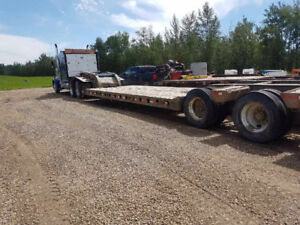 1991 scona double drop mec detach lowboy