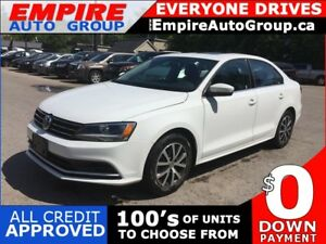 2015 VOLKSWAGEN JETTA SE W/CONNECTIVITY * REAR CAM * SUNROOF