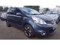 NISSAN NOTE 1.5 DCI N-TEC+ FACELIFT SAT NAV 5 DOOR 2013 / CAMBELT DONE / 1 OWNER / £20 TAX / FSH