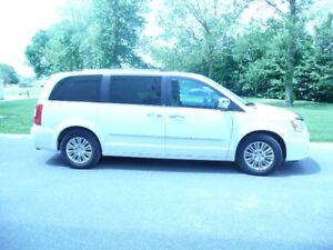 2012 Chrysler Town & Country Limited Minivan, Van
