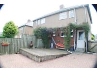 two bedroom semi detached with garage, prudhoe £495pcm