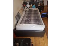 Single Futon bed for sale (w/ mattress)