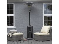 Powder coated steel patio heater 13.5 kW Black (New boxed)