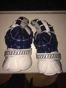 Lacrosse gloves: Warrior lacrosse gloves