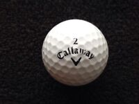 30.mixed CALLAWAY golfballs in very good condition