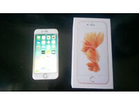 Apple Iphone 6s Rose Gold 16gb (O2) - (Slight Damage & Cameras Don't Work)