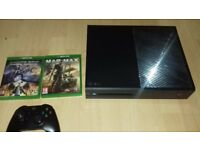 xbox one 500gb 2 games 1 controller
