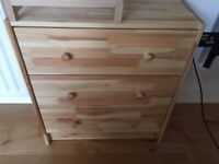 IKEA RAST chest of drawers for sale