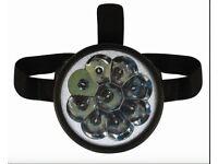LED Head Torch Lumens Super Bright Headlight 3x AAA Batteries