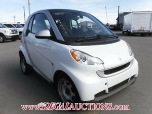 2012 SMART FORTWO  2D COUPE