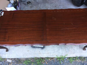 SOLID WOOD COFFEE TABLE-$20.00
