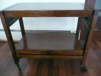 Vintage hostess trolley by Besway. Immaculate condition