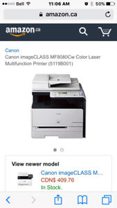 CANON LASER PRINTER ... print, copy, fax and scan!!!!