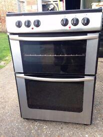£119.00 New world sls/Black ceramic electric cooker+60cm+3 months warranty for £119.00