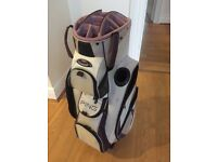 Ladies Pink and White Ping Golf Bag
