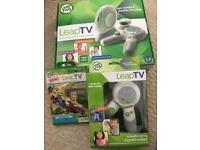 Leap Tv Console with two controllers and extra game
