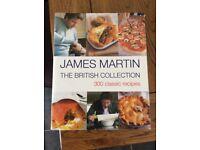 James Martin, hard back cook book,