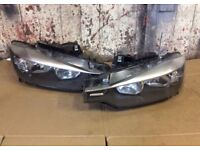 2015 BMW 3 SERIES F30 FRONT PAIR HEADLIGHTS RIGHT LEFT DRIVERS PASSENGERS N/S O/S