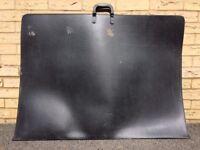 Large Artist's Portfolio Folder zip case with handles