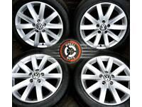 "17"" Genuine VW alloys 5x112, outstanding cond, excellent premium tyres."