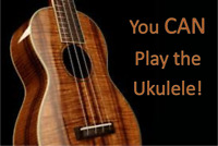 Ready to learn the Ukulele? Booking for September now!